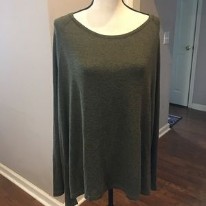 Old Navy heather green light weight sweater 2X